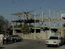 В Севастополе до конца недели демонтируют трехэтажный остановочный павильон