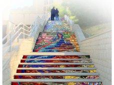 Лестницу в центре Симферополя украсят мозаикой