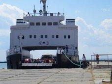В порту «Кавказ» на Керченской переправе ожидают очереди 410 машин