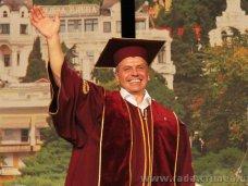 Глава крымского парламента стал почетным профессором