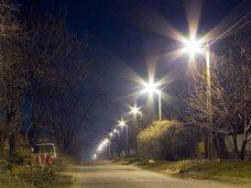 В Бахчисарае восстанавливают уличное освещение