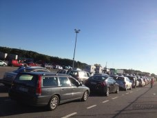 В портах «Кавказ» и «Крым» очереди на паром ожидает 1,1 тыс. автомобилей