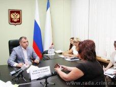 Крымский спикер провел прием граждан
