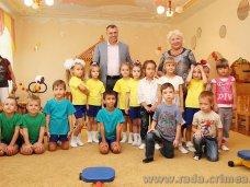 Детский сад в Симферополе получил от крымского спикера тренажеры для укрепления здоровья