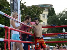 В Ялте открылся чемпионат Евразии по боевому самбо