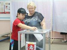 В Крыму проголосовало 35% избирателей
