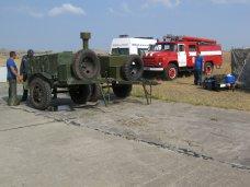 На Керченской переправе дежурят сотрудники МЧС