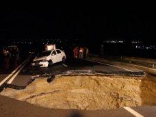 Из-за обвала дороги на трассе Симферополь – Николаевка погибли шестеро
