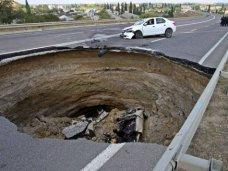 В Симферополе ограничено движение на участке объездной дороги