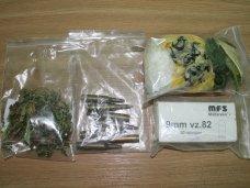 Крымчанин попался на хранении наркотиков и патронов
