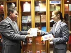 Цеков открыл в Совете Федерации книжную выставку, посвящённую истории Крыма