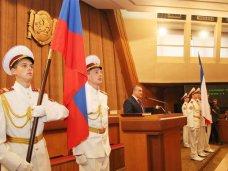 В парламенте Крыма состоялась инаугурация Главы Республики Крым