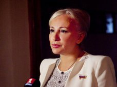 Ковитиди назначена представителем Крыма в Совете Федерации