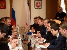 Сергей Аксёнов обсудил с делегацией c Северного Кавказа развитие взаимоотношений