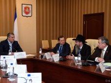 Сергей Аксёнов пообещал представителям еврейских организаций Крыма содействие в решении их проблем