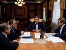 Сергей Аксенов провел совещание о состоянии дел на Керченской переправе