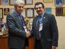 Министр спорта Крыма посетил с рабочим визитом Санкт-Петербург