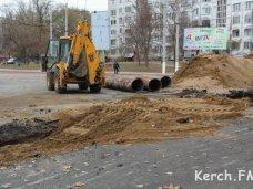 На замену коллектора в Керчи выделена субвенция из республиканского бюджета