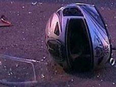 В Севастополе автомобиль столкнулся с тремя мотоциклами