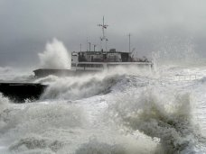 На Керченской переправе ожидается шторм