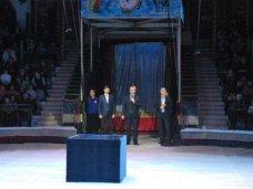 В Симферопольском цирке открылась правительственная елка