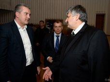 Сергей Аксёнов поздравил Игоря Радионова с назначением на пост председателя Верховного суда Крыма