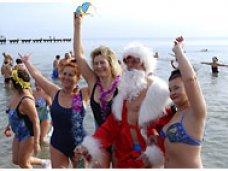В Евпатории состоится рождественский заплыв в ледяной купели