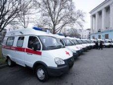 Крымские медики получили новые автомобили скорой помощи