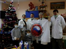 Пациенты Республиканской детской клинической больницы получили подарки к Новому году