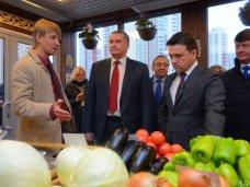 Сергей Аксёнов открыл первый магазин торговой сети «Крымское подворье» в Подмосковье