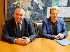 Руководители Керчи встретились с губернатором Тульской области Владимиром Груздевым