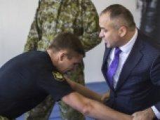 Крымские приставы сдали зачет по единоборствам