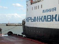 Керченская переправа не работает из-за непогоды
