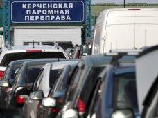 Работа Керченской переправы приостановлена из-за тумана