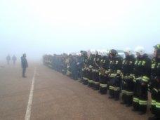 Севастопольские спасатели тренируются ликвидировать последствия отключения электроснабжения в городе