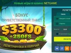 Автоматы в онлайн-казино NetGame
