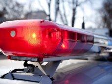 В Ялте полицейский автомобиль с группой немедленного реагирования попал в ДТП