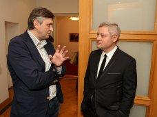 Украинский национальный стенд вызвал огромный интерес на Berlinale-2015