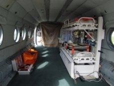 На вооружение МЧС Крыма поступил эксклюзивный медицинский модуль для перевозки раненных пострадавших в ЧС