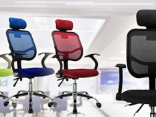 Как сделано офисное кресло