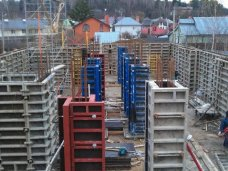 Начните строительство со строительной опалубки