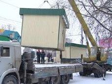 Евпатория заняла первое место по Крыму по демонтажу незаконных торговых объектов