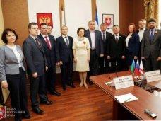 Сергей Аксёнов встретился с делегацией Ханты-Мансийского автономного округа – Югры