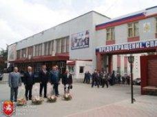 Михаил Шеремет поздравил пожарных с профессиональным праздником