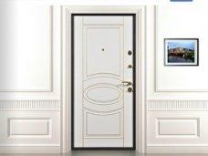 Конструкция входных металлических дверей