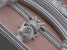 История зданий. Растительные мотивы симферопольских барельефов